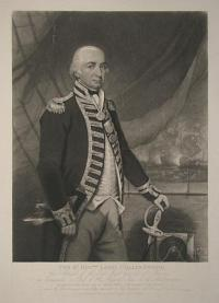 The R.t Hon.ble Lord Collingwood, Vice Admiral of the Red, Major General of Marines
