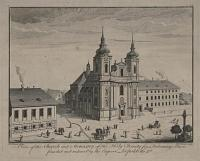 A View of the Church [Austrian Hungarian Empire] and Monastry of the Holy Trinity for Redeeming Slaves, founded and endowed by the Emperor Leopold the Ist.