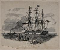 The Emigrant Ship Towing Out.