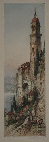 Lake Lugano (Morcote) [in plate.]