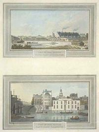 View of the British Plate Glass Manufactory; View of the British Plate Glass Warehouse.