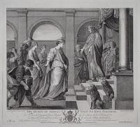 The Queen of Sheba's Visit to King Solomon.