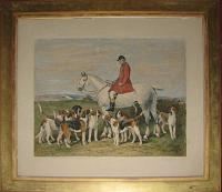 Presented to the Hon. Ralph P. Nevill by the Farmers of the West Kent Hunt after 30 years Mastership. Nov. 1898