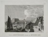 View of Amsterdam towards the Zuyder Zee.