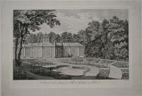 A View of the Aviary and Flower Garden at Kew.