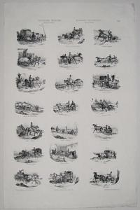 Voitures Russes.  Russian Carriages.