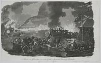 Attack on Gibraltar in 1781, by the Spanish Floating Batteries.
