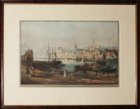 View of the Port and Town of Newcastle upon Tyne, from the Rope Walk Gateshead.  Dedicated with Permission to the Right Worshipful the Mayor & Corporation of that Ancient Town by Their obliged and Obedient Servant. T. M.Richardson.