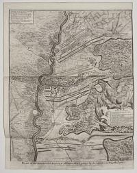 [Battle of Blenheim.] Plan of the Glorious Battle of Hochstet gained by the Allies on August 13th 1704.