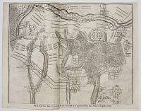 Plan of the Battle of Malplaquet gained by the Allies Sep. 11. 1709.