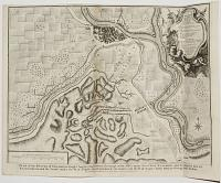 Plan of the Battle of Saragossa, Fought Aug.t 9, 1710,