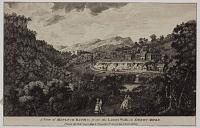 A View of Matlock Bath, &c. from the Lovers Walk; in Derby-Shire.