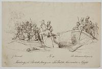 Landing of the British Army under Sir Ralph Abercrombie in Egypt