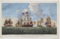 The Defeat of a French Squadron, Commanded by Mons. de la Clue, off Cape Lagos,