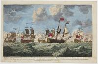 The Glorious defeat of the French Fleet under the Command of Marshal Conflans, off Belle Isle, on the 20th of November 1759,