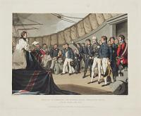 Sailors at Prayers on Board Lord Nelson's Ship, After the Battle of the Nile.