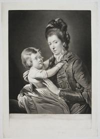[Mrs Green and Child.]