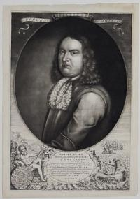 Robert Blake. General and Admiral of the Forces of England &c. Denatus 17. Aug. 1657 Ætat. 59.