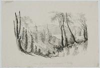 Near Lausanne from a Sketch by Mrs Whitby