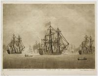 A Squadron at Anchor preparing to Sail / Battle of the Nile 1798.