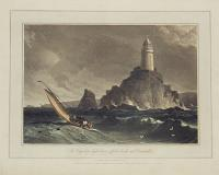 The long ships light house, off the lands end, Cornwall.