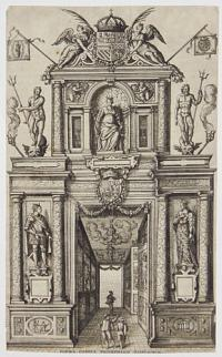 [Triumphal arch used for the entry of Ernst, Archduke of Austria, into Antwerp on 14 June 1594]