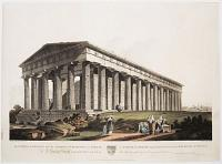 The Temple of Theseus, now the Church of S.t. Demetrrius, at Athens. Le Temple de Thésée aujourd'hui L'Eglise Greque de S.t.. Demetri a Athenes.