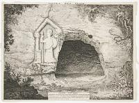 [Edgar's cave and rock-cut figure of Minerva on Edgar's field]