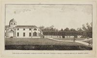 The Duke of Bedford's Stables, with the New Tennis-Court & Riding-House at Woburn Abbey