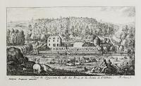 [Five views showing the surroundings of the castle of Longuetoise.]