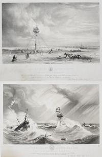 [Pair with same title] Capt.n Bullock's Safety Beacon, on the Goodwin Sands,