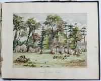 [Album of 22 Watercolours near Frensham, Surrey.]