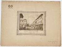 [Six nineteenth-century views of Bologna by Luca Basoli after Antonio Basoli, in presentation wrapper from 1939]