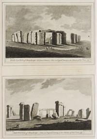 North East View of Stonehenge- The Grand Entrance- From an Original Drawing in the Collection of Rob.t. Duke Esq.r. [&] South West View of Stonehenge- From an Original Drawing in the Collection of Rob.t. Duke Esq.r.