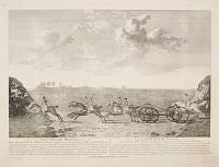 The Chaise Match, Run on New-market Heath on Wednesday the 29 of August, 1750,