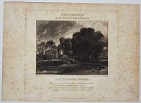 Frontispiece to M.r Constable's English Landscape. East Bergholt, Suffolk.