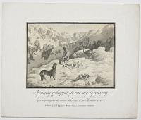 [Great St Bernard Hospice after Avalanche on Mount Marengo, 20 January 1825]