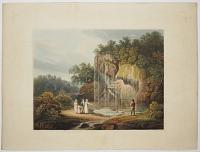 [The Dropping Well, at Knaresborough, Yorkshire.]