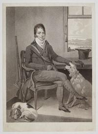 [Portrait of Mr. Thornhill and his Gun Dogs.]