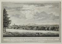 The North East View of the City of Worcester, from Red-house Hill.