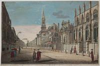 [A View of part of St Mary's Church of Oxford.]