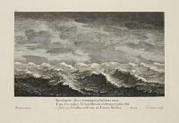 [Seascape with sailing ships on a rocky sea]