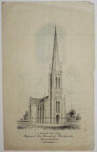 A Design for the Proposed New Church at Bridgwater, Somersetshire.