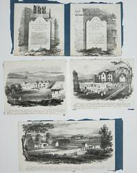 [Eight views in the Isle of Wight, illustrating the Rev. Legh Richmond' ''The Dairyman's Daughter''.]