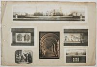 [The Thames Tunnel: 5 illustrations from 'Memoranda and views relating to the tunnel now excavating under the Thames, from Rotherhithe to Wapping'.]