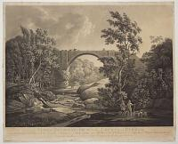 A View of Tanfield Arch in the County of Durham.