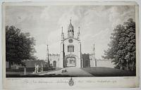The New Gateway at the Archbishop of York's Palace at Bishopthorpe - 1769.