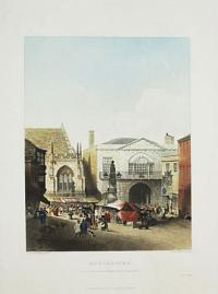 Dorchester, View of the Town Hall and Market Place during the Fair.