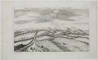 View of Great Bedwin & Wansdike 2 Iuly 1723 Leucomagus.