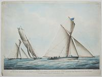The Mystery Iron Yacht, 25 Tons, Property of Lord Alfred Paget,